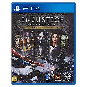 Injustice: Gods Among Us Ultimate Edition (Usado) - PS4