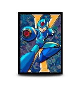 Quadro Mega Man X - X - 32,5 x 43cm