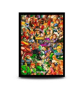 Quadro Marvel vs Capcom 2 - New Age of Heroes - 32,5 x 43cm