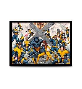Quadro X-Men - 32,5 x 43cm