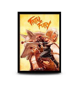 Quadro Fatal Fury - Terry Bogard - 32,5 x 43cm