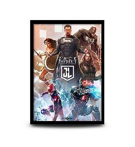 Quadro Zack Snyder's Justice League - 32,5 x 43cm