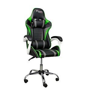 Cadeira Gamer Greatek - Black Green