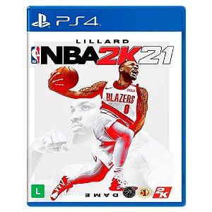NBA 2K21 (Usado) - PS4