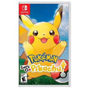 Pokémon: Let's Go Pikachu! - Switch