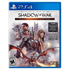 Terra Média: Sombras da Guerra Edição Definitiva - PS4