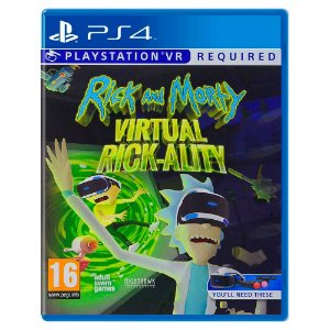 Rick and Morty Virtual Rick-Ality - PS4
