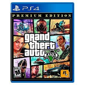 Grand Theft Auto V: Edição Online Premium - PS4