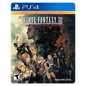 Final Fantasy XII The Zodiac Age - Limited Steelbook Edition - PS4
