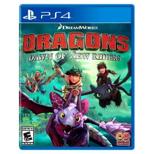 Dreamworks Dragões: Alvorada dos Novos Cavaleiros - PS4