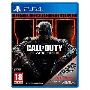 Call of Duty Black Ops III: Edição Zombies Chronicles - PS4
