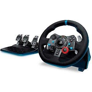 Volante Logitech G29 - PS5, PS4, PS3 e PC