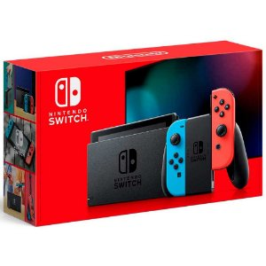 Nintendo Switch Neon Blue/Neon Red 32GB - Novo Modelo