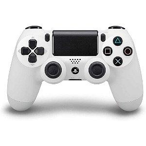 Controle Dualshock 4 - Branco Glacial - PS4