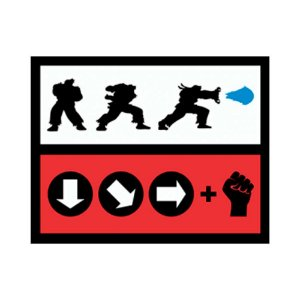 Placa Decorativa #28 Hadouken