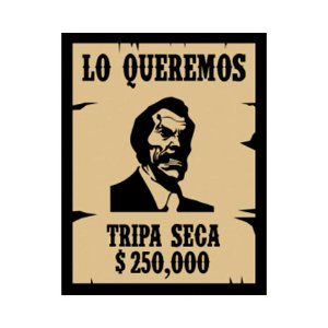 Placa Decorativa #25 Tripa-Seca