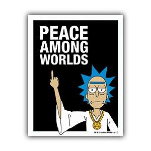 Placa Decorativa #22 Peace Among Worlds