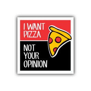Placa Decorativa #11 I Want Pizza