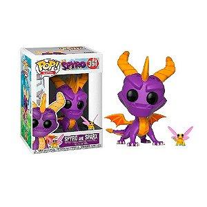 Funko Pop! Spyro and Spark #361
