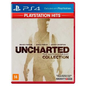 Uncharted The Nathan Drake Collection (Usado) - PS4