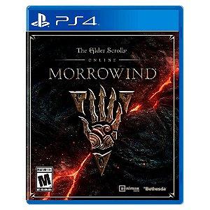 The Elder Scrolls Online: Morrowind (Usado) - PS4