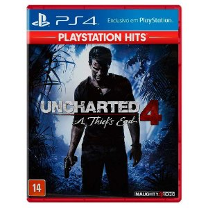 Uncharted 4: A Thief's End (Usado) - PS4