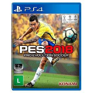 PES 2018 (Usado) - PS4