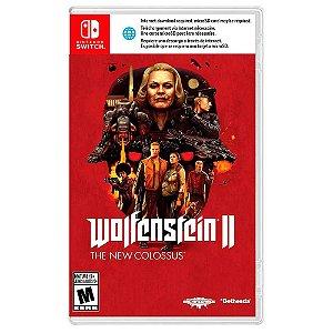 Wolfenstein II: The New Colossus (Usado) - Switch