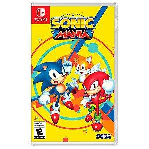 Sonic Mania (Usado) - Switch