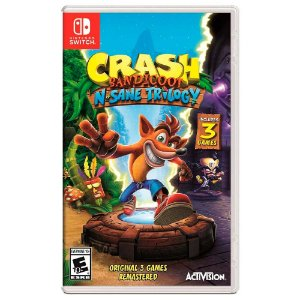 Crash Bandicoot N.Sane Trilogy (Usado) - Switch