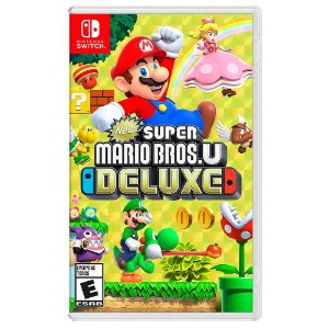 New Super Mario Bros. U Deluxe (Usado) - Switch
