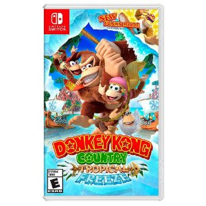 Donkey Kong Country: Tropical Freeze (Usado) - Switch
