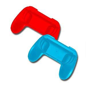 Par de Grips para Joy-Con - Azul e Vermelho