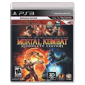 Mortal Kombat : Komplete Edition (Usado) - PS3