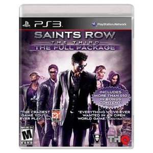 Saints Row: The Third - The Full Package (Usado) - PS3