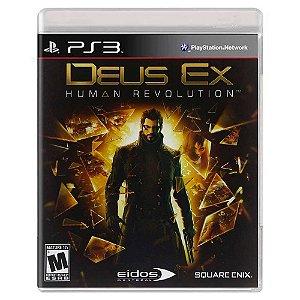 Deus Ex: Human Revolution (Usado) - PS3