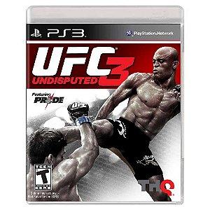 UFC Undisputed 3 (Usado) - PS3