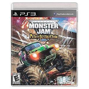 Monster Jam: Path of Destruction (Usado) - PS3