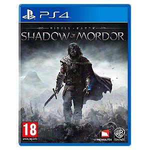 Terra Média: Sombras de Mordor (Usado) - PS4