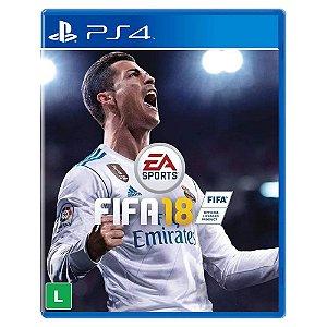 Fifa 18 (Usado) - PS4