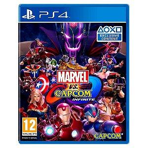 Marvel vs. Capcom: Infinite (Usado) - PS4