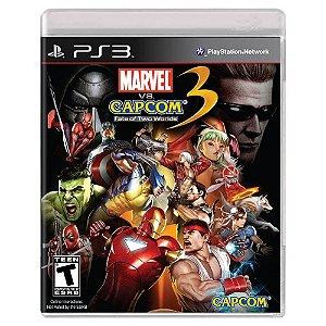 Marvel vs. Capcom 3: Fate of Two Worlds (Usado) - PS3