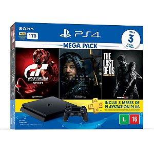 PlayStation 4 Slim 1TB Hits Bundle V10