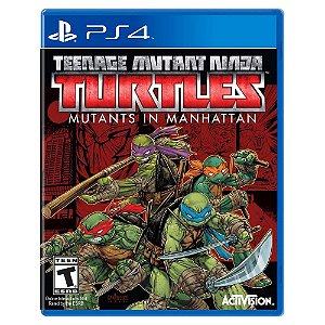 Teenage Mutant Ninja Turtles: Mutants in Manhattan (Usado) - PS4