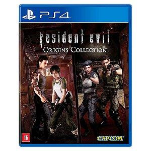 Resident Evil Origins Collection (Usado) - PS4