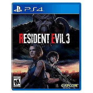 Resident Evil 3 (Usado) - PS4