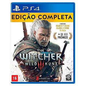 The Witcher 3: Wild Hunt Edição Completa (Usado) - PS4