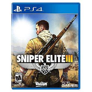 Sniper Elite III (Usado) - PS4