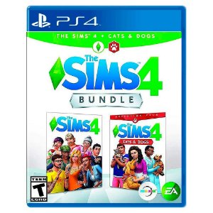 The Sims 4 + Gatos e Cães Bundle (Usado) - PS4