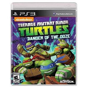 Teenage Mutant Ninja Turtles: Danger of the Ooze (Usado) - PS3